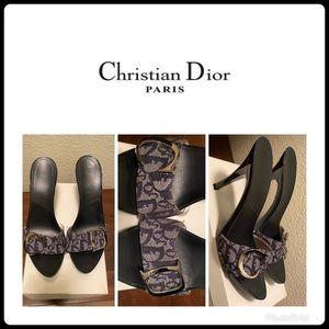 Dior Monogram heels